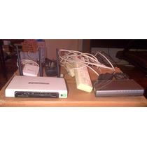 Router Wifi Tplink + 3com Gigabit Switch Combo