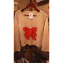 Sweter Victoria Tejido A Dos Agujas