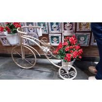 Suporte Para Vaso Bicicleta Decorativa Varanda Jardim Invern