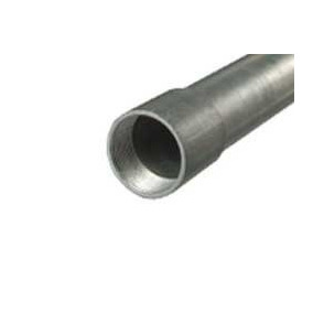 Tubo Conduit Pared Gruesa Galv De 1-1/2 Con Cople Ced. 30