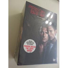 Prison Break Serie Completa Original Tv Dvd + Final, Extras