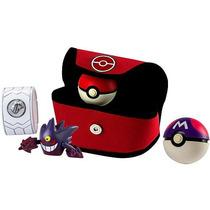 Set Pokémon Trainer Kit Pokebola Y Pulsera De Luz Tomy 2016