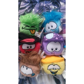 Disney Club Penguin Puffles Peluches