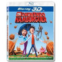 Blu-ray 3d E 2d Tá Chovendo Hamburguer - Novo E Lacrado