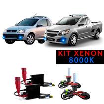 Kit Xenon H3 8000k Para Farol De Milha Montana 2009 A 2015