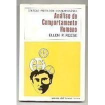 Livro Análise Do Comportamento Humano Ellen P. Reese