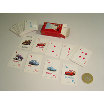 Mini Baraja Mini Cartas Pixar Película Cars Mc. Queen Otra
