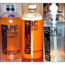 Promo Alisado Fotonico+cauterizante+shampoo Neutro