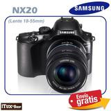 Ituxs Camara Samsung Nx20 Lente 18-55mm Nueva Sanx20/18/55