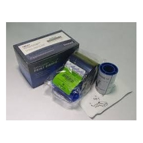 Cinta Datacard 535000-003 Color Ribbon Cleaning Ki Ymckt 500