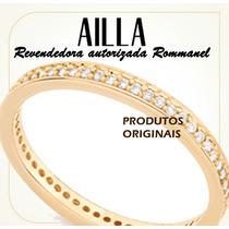 Aliança Anel Rommanel Fo Ouro 18k Noivado Compromisso 511880