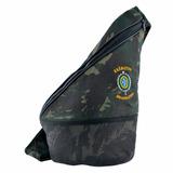Bolsa Atletic Bordada Brasão Exército Brasileiro Camuflada