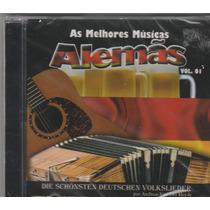 As Melhores Músicas Alemãs - Cd Vol.1 Coletânia - Lacrado