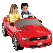 Montable Fisher-price Power Wheels Ford Mustang Rojo De 12