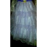 Disfraz De Princesa Violeta Talla 8