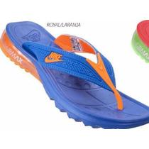 Chinelo Masculino Sandália Nike Air Max Gel Macio Em Ar