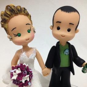 Topo De Bolo Engenheira Com Noivinho Heineken