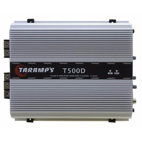 Módulo Amplificador Taramps T500 1 Ohms Digital T 500 Wrms