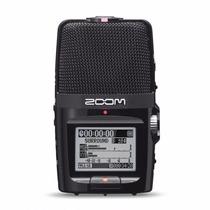 Gravador De Voz Digital Zoom H2n H2 N Ultra Portátil