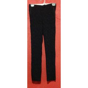 Pantalon Tiro Alto Animal Print Skinny Stretch Lorenza Blau