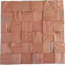 Revestimento Decorativo Painel Mosaico De Madeira Maciça