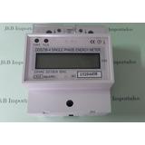 Medidor Consumo De Energia Digital Bifásico 110v 100a 2 Fios