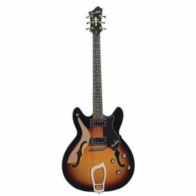 Hagstrom Vik Tsb Viking Guitarra Semi Hueca Tipo 335
