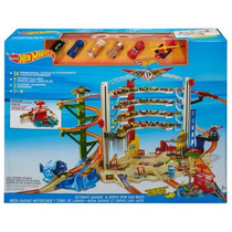 Hot Wheels Ultimate Garage Playset Con Lavado De Coches