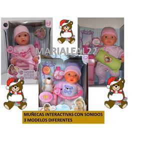 Muñeca Con Sonido Y Accesorios Jeidy Toys Juguete Niñas