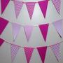 Banderines En Cartulina Estampada Para Decorar Cumpleaños