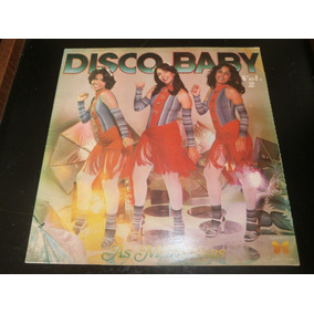 Capa Lp Disco Baby - As Melindrosas, Disco Vinil, 1978 - Obs