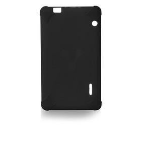 Funda Para Tablet Silicon 7 Pulgadas Vorago Tc-124 Negra