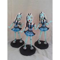 Monster High Adorno Para Torta En Porcelana Fria