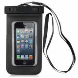 Capa Bolsa Estanque Prova D´água Mergulho Iphone 5 5s 5c S4