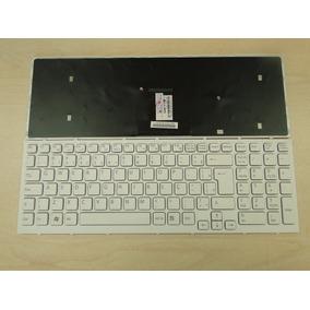 Teclado Sony Branco Sve Pn Mp-09l28pa-8861 Com Frame Abnt2 Ç