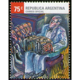 Argentina Serie X 1 Sello Mint Tango = Música = Bandoneón