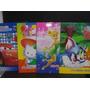10 Revistas P Colorear + Stickers Kitty Princesas Cars Spide