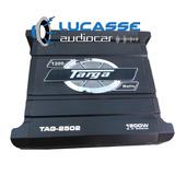Potencia Targa 1200w 2 Canales Tag 2502 P/ Woofer Driver