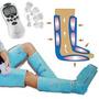Electroestimulador Portatil 4 Electrodos + Bota Presoterapia