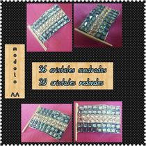 Prendedores Escarapela Bandera 1 (plata)swarovski®