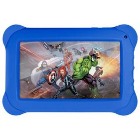 Tablet Infantil Tela 7 Wifi 8gb Android Os Vingadores