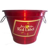 Balde Para Gelo Em Aluminio 5,5 Litros Whisky Red Label