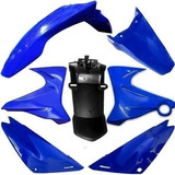 Kit Platicos Yamaha Xtz 125.(7 Piezas, Azul) 1ra Calidad.