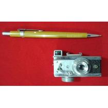 Mini Máquina Fotográfica Espião Antiga + De 40 Anos Japão
