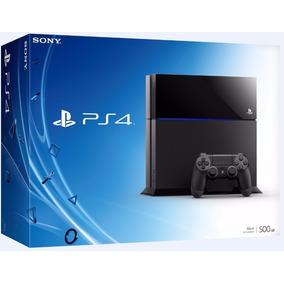 Ps4 500gb Sony Playstation 4 Blu Ray Hdmi Bivolt Controle 3d
