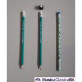 Goma-sujeta-lápiz Imantado + 3 Lápices De Regalo