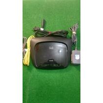 Modem Router Cisco Linksys Modelo Wag120n Wireless Adsl2