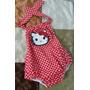 Mameluco Romper Body Braga De Hello Kitty Para Bebes Y Niñas
