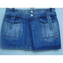 Mini Saia Jeans Da Hand Book Tam M