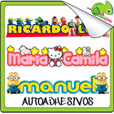 Vinilos Osandme Nombres Personalizado Niños Sticker Infantil